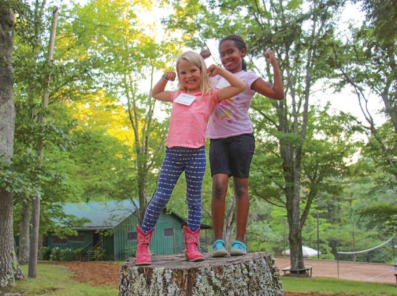 Girls aged six to 16 have been creating community at Skyland Camp for Girls for more than a century. Skyland photo