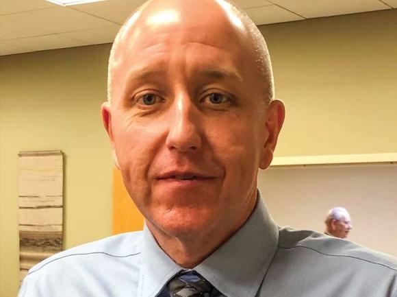 Danny Bates, Franklin's interim police chief.