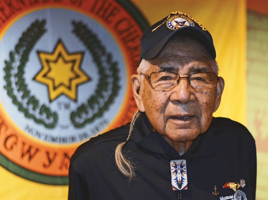 Jerry Wolfe was named Beloved Man of the Eastern Band of Cherokee Indians in 2013, making him the first man to receive the honor in more than 200 years.