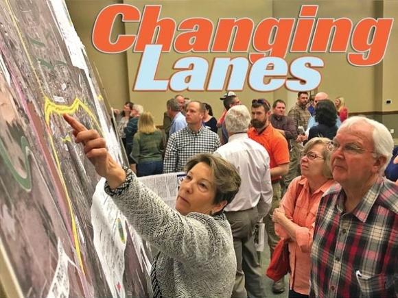 WNC communities help redesign their five-lane highways