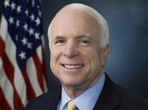The late Senator John McCain.