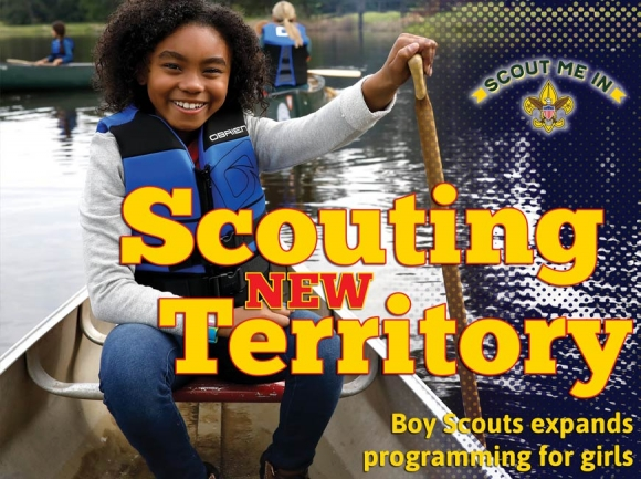 More Boy Scouts programming open to girls