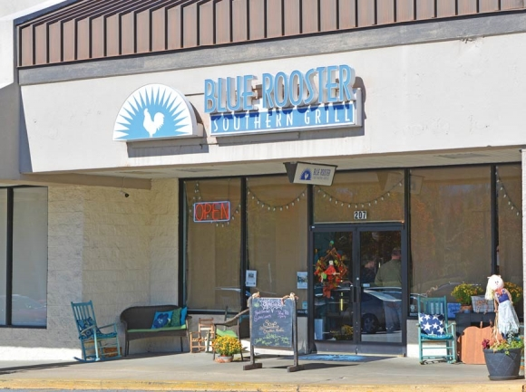 The Blue Rooster in Clyde is looking to expand upon its history of charitable activity. Cory Vaillancourt photo