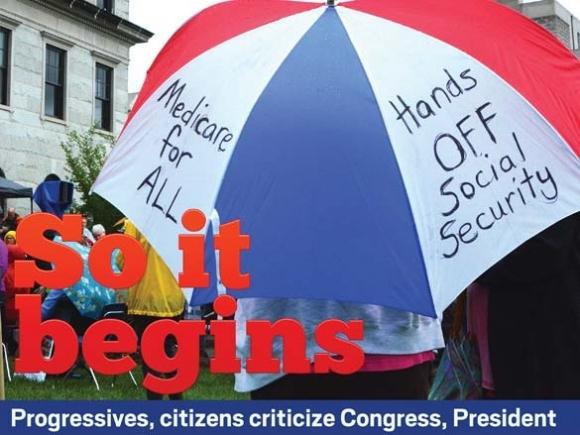 Progressives, citizens criticize Congress, President
