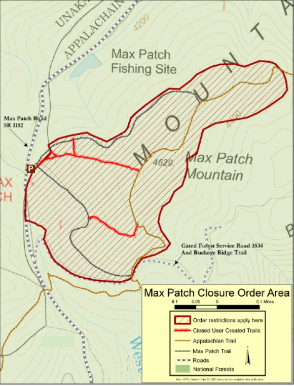 New Max Patch restrictions include ban on camping, fires