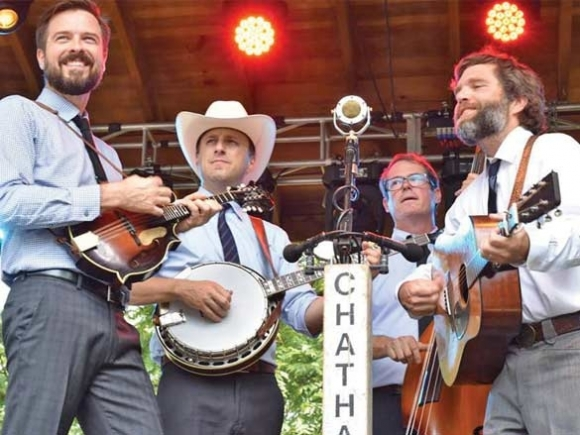 Cataloochee Ranch welcomes Chatham County Line
