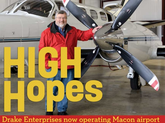 Drake takes Macon airport under its wing