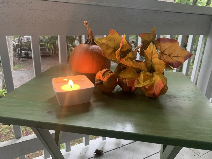 DIY Fall Scented Candles