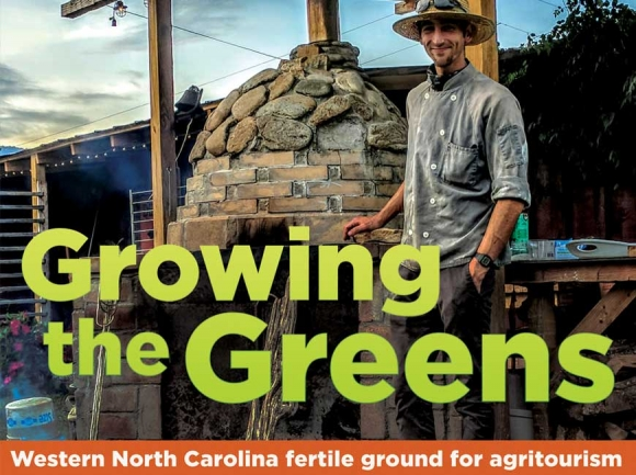 Growing the greens: Agritourism flourishes in Western North Carolina