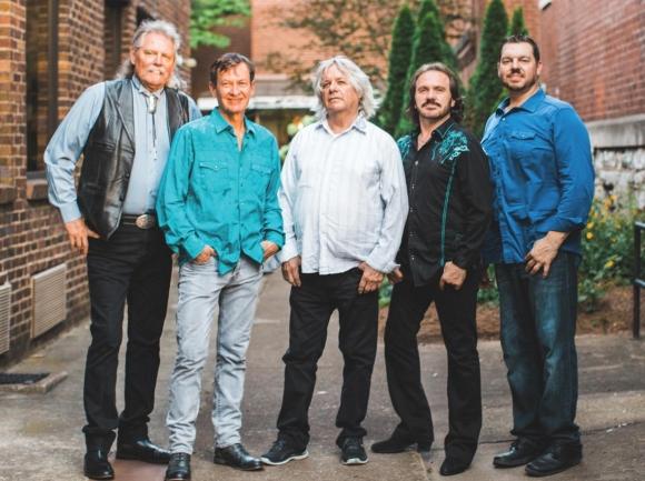 Pure Prairie League (Michael Reilly, far left).