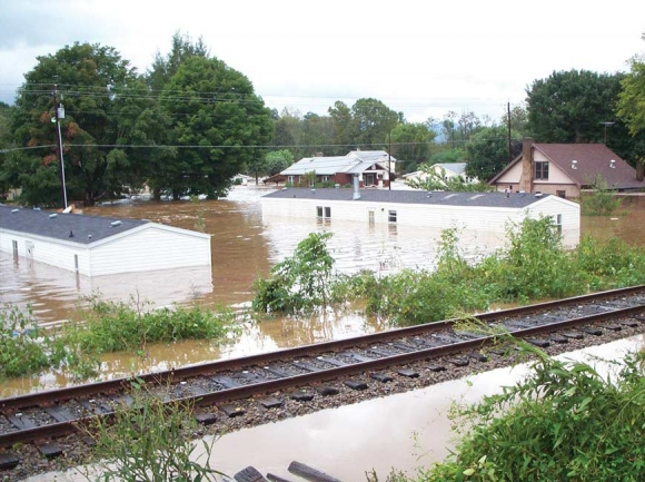 Many, including these residents of Clyde, lost everything. File photo