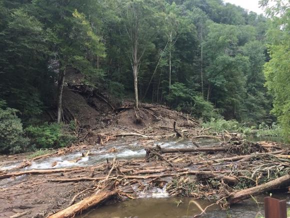 Emergency Closure for Nantahala Gorge