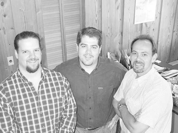 This 1999 photo is of (from left) Neil Torda, Greg Boothroyd and me, the three founders of The Smoky Mountain News. Torda was a jack-of-all trades who did all the IT work and was a graphic designer. He now works in IT at Western Carolina University.